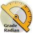 Conversion grade radian